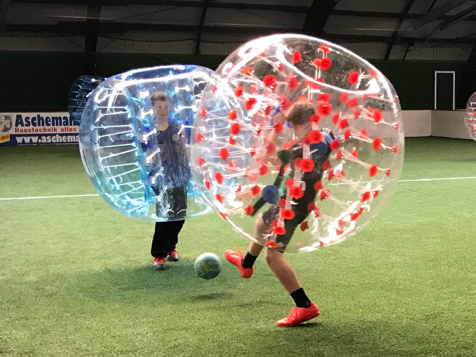 Soccer Center Osnabrück | Bubble Ball in Aktion