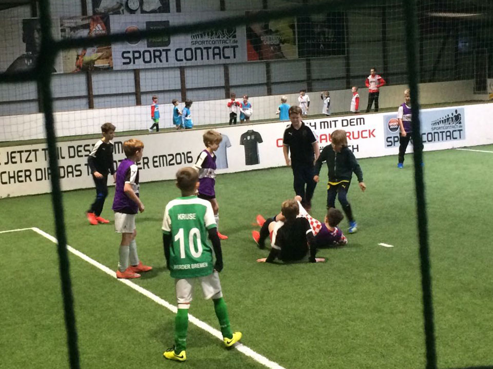 Soccer Center Osnabrück | Kinder auf dem Court